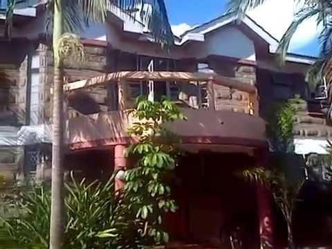 Front View of Beautiful House for Sale in Kenya at Nairobi Kahawa Sukari Estate