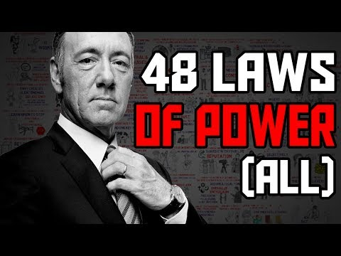 The 48 Laws of Power by Robert Greene Animated Book Summary – All laws explained
