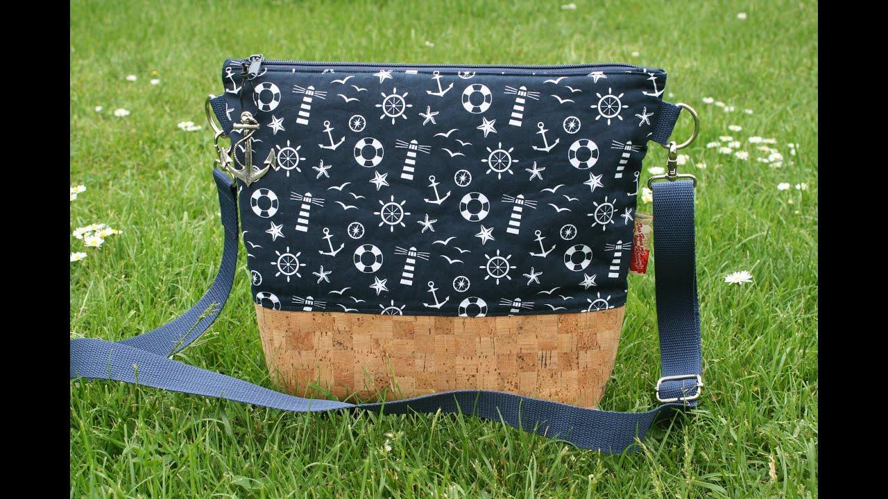 bbf0e3185af63 Tasche Milow von Zucker und Zimt Design - kostenloses Schnittmuster ...