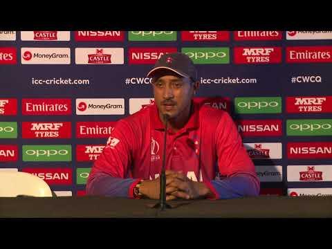 CWCQ: Nepal - Paras Khadka - Post match Press Conference - 10 March 2018