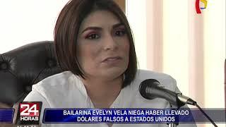 Evelyn Vela sobre su detención en EEUU: