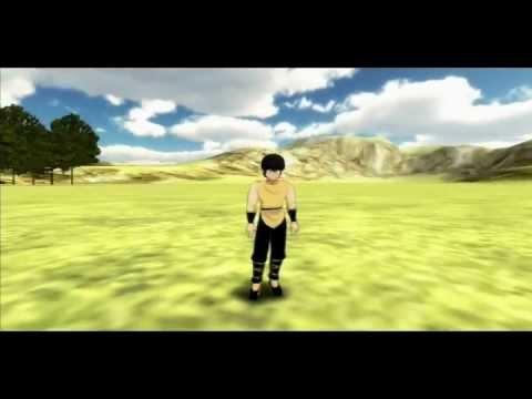 Unity 3D Ranma 1/2 RPG 3D Gameplay