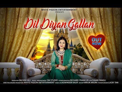 New Hindi song 2018 | Dil Diyan Gallan | Jennifer Franklin | Salman Khan | Love song story