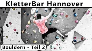 Kletterbar Hannover Fortschritte beim Bouldern