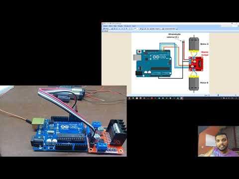 Tutorial Ponte H ( L298N ) Controlada Por Arduino