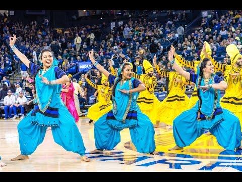 Bhangra Empire @ NBA Halftime Show (Warriors vs. Grizzlies) 2017
