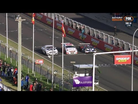 2018 Bathurst 1000 - Speed Comparison - Ford Mustang GT4 vs Ford FGX Falcon Supercar vs Ford GT GTE