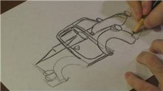 Drawing Vehicles : How to Draw a Chevy Truck