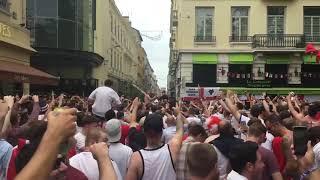ENGLAND FANS SINGING JAMIE VARDY IN RUSSIA (15-06-18)