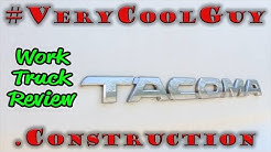 2009 Toyota Tacoma Work Truck - Review