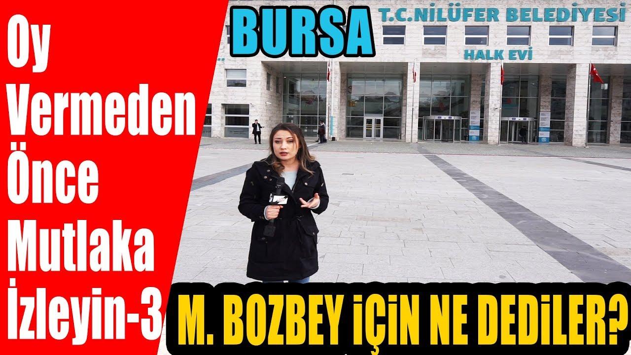 CHP'nin Bursa Adayı Mustafa Bozbey'i Kendi Belediyesi Nilüfer'de Sorduk