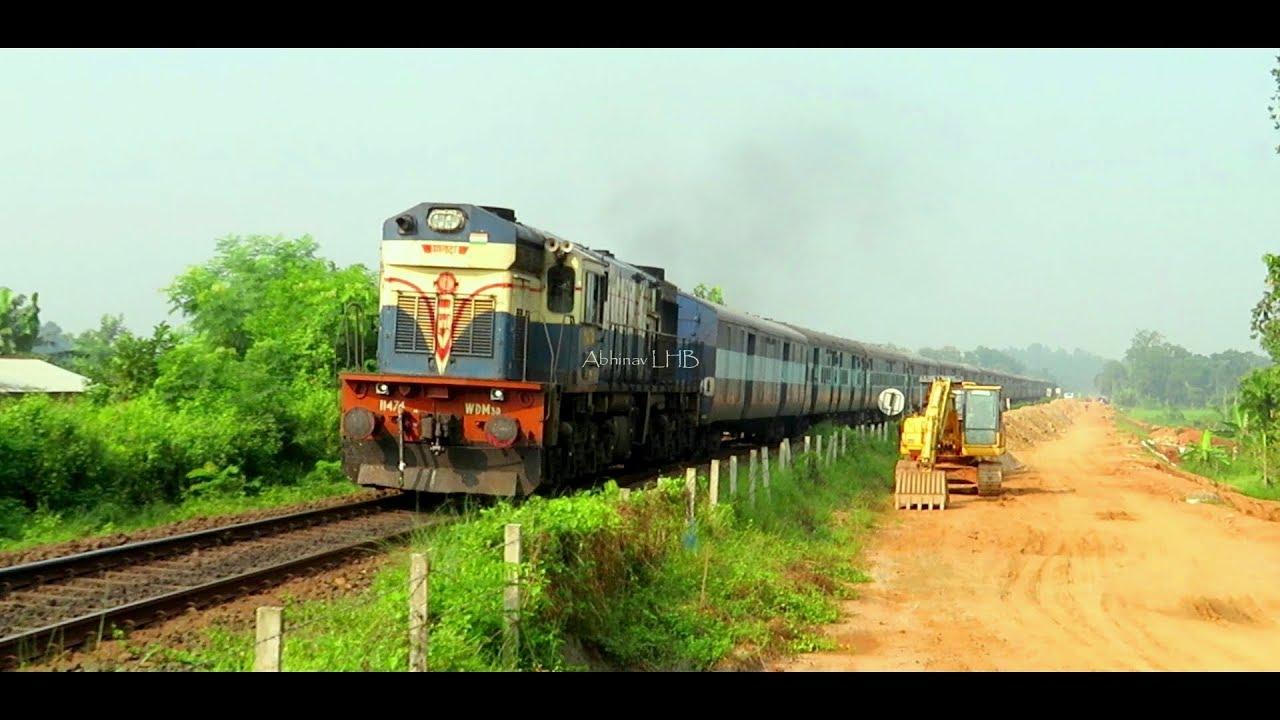Eastern Railway's all 3 KANCHANJUNGHA EXPRESS | 13171 / 13173 / 13175 |  Sealdah - Agartala/Silchar by Abhinav LHB