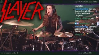 "Slayer - ""Reborn"" - Drums"