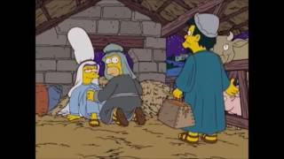 El nacimiento de Jesus (Parte 1/2) Los Simpson