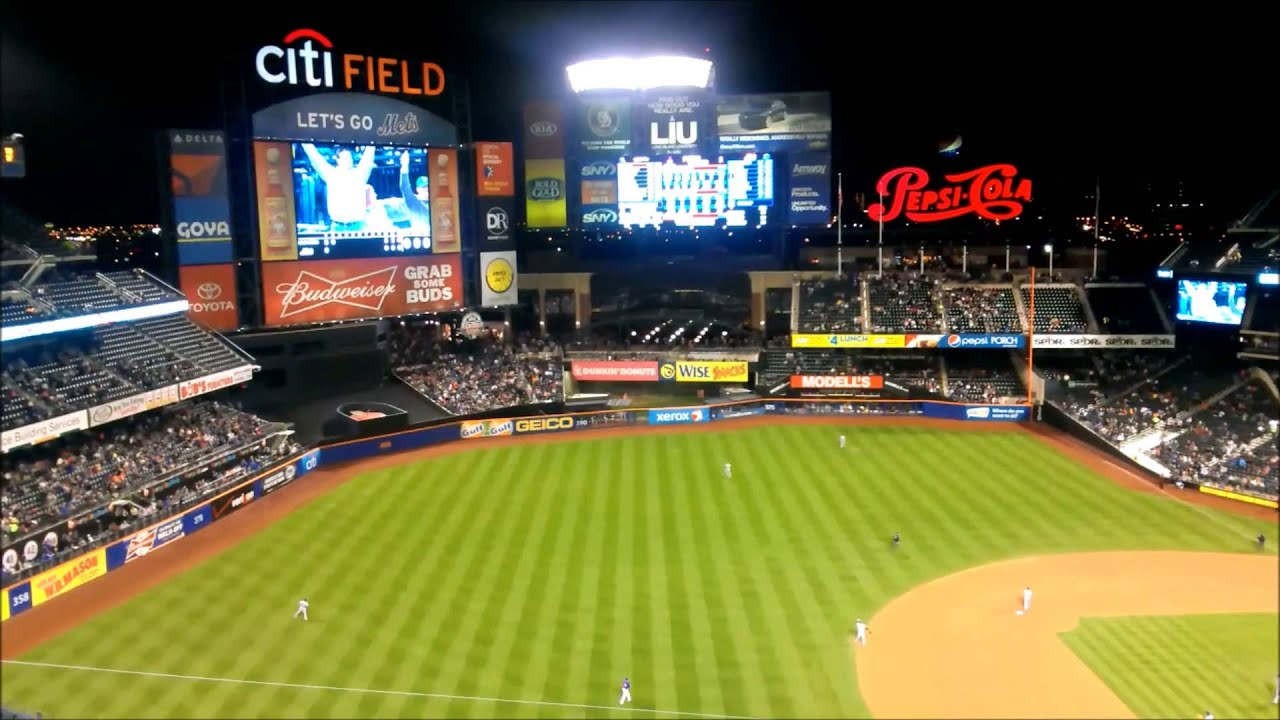 Baseball Game New York Mets Milwaukee Brewers At Citi