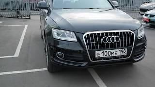 Audi Q5, 2012 г, Поколение с 2012 по 2017, 1 Рестайлинг (8R) S-Line