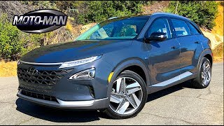2019 Hyundai NEXO Fuel Cell CUV TECH REVIEW: A Science Experiment & Crossover in one . . . (1 of 2)