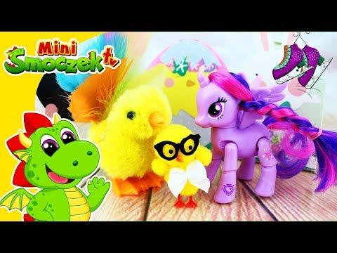 My Little Pony: Twilight Sparkle Na Łyżwach W Wiekanoc? Jajka Niespodzianki Zabawki Dla Dzieci