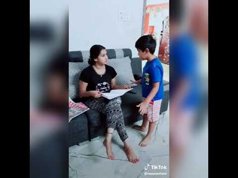 Full Download] Meena Vasu Cute Dusbmash With Her Son