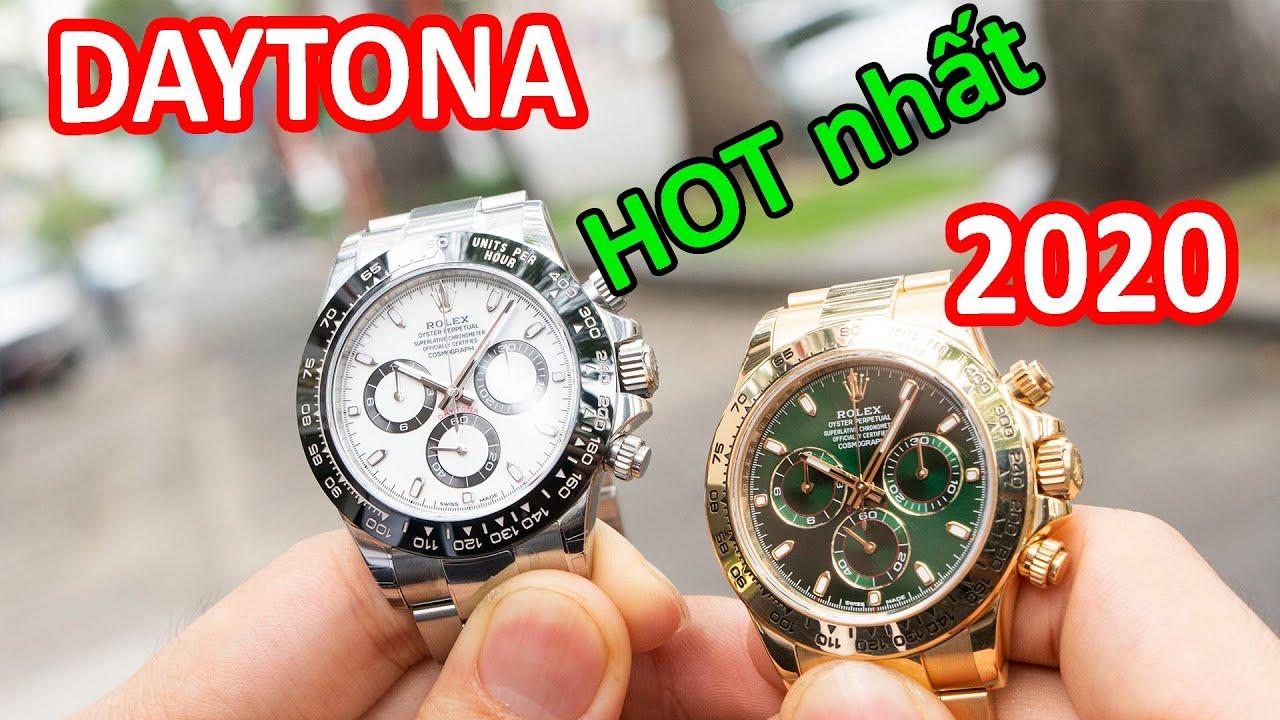 Hai chiếc đồng hồ Rolex Daytona HOT nhất trong năm 2020   Daytona 116500LN và Daytona 116508