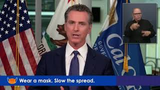 LIVE: California Governor Gavin Newsom discusses the state's COVID-19 response as cases soar