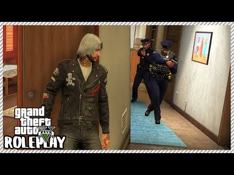 GTA 5 Roleplay - Incredible Home Escape From Police | RedlineRP #151