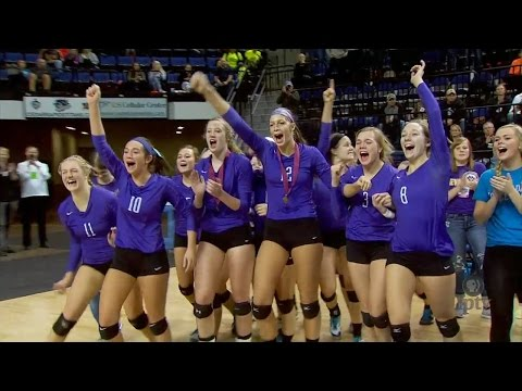(3A) 2015 IGHSAU Iowa Farm Bureau Girls State Volleyball Cha