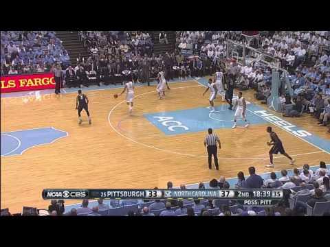 UNC Men's Basketball: Highlights vs. Pittsburgh