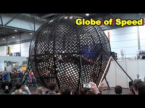 Globe of Speed | Motorradmesse Leipzig 2016