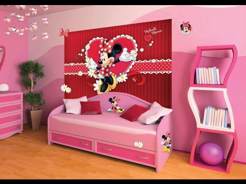 Mickey Mouse Bedroom I Mickey Mouse Bedroom Furniture  YouTube
