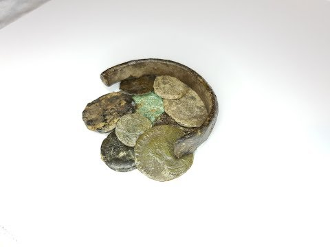 Metal Detecting For roman Silver In The Woods. Minelab Equin
