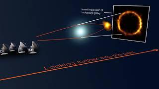 اكتشاف مجرة تبعد 12 مليار سنة ضوئية عن الأرض تشبه مجرتنا درب التبانة