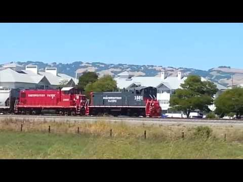 First run of Northwestern Pacific's MP15DC #1501