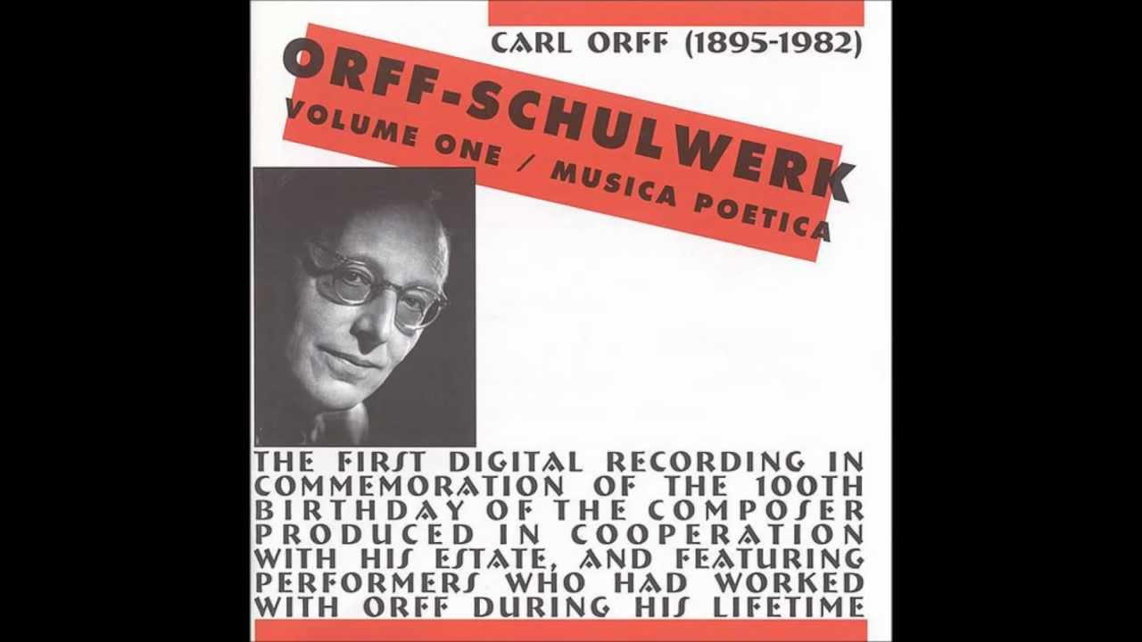 Carl Orff - Gunild Keetman - Weihnachtslieder Orff-Schulwerk