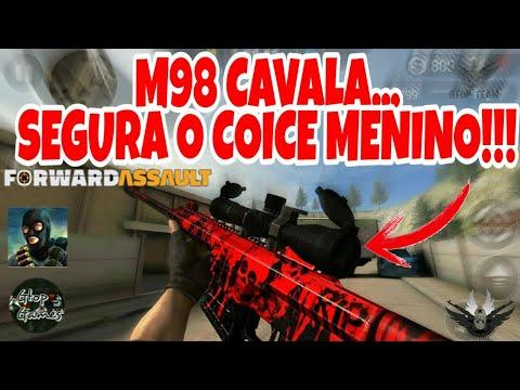 FWD, M98 CAVALA... SEGURA O COICE MENINO!!!