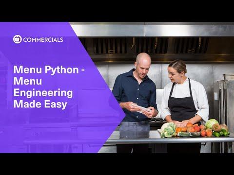 Menu Python - Menu Engineering Made Easy With RSI