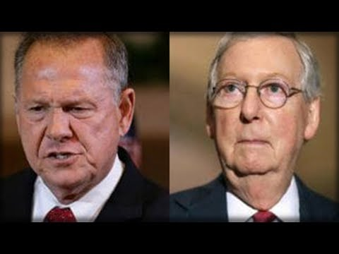 MCCONNELL JUST DECIDED TO GO AGAINST THE WILL OF THE PEOPLE WITH WHAT HE PLANS TO DO TO ROY MOORE