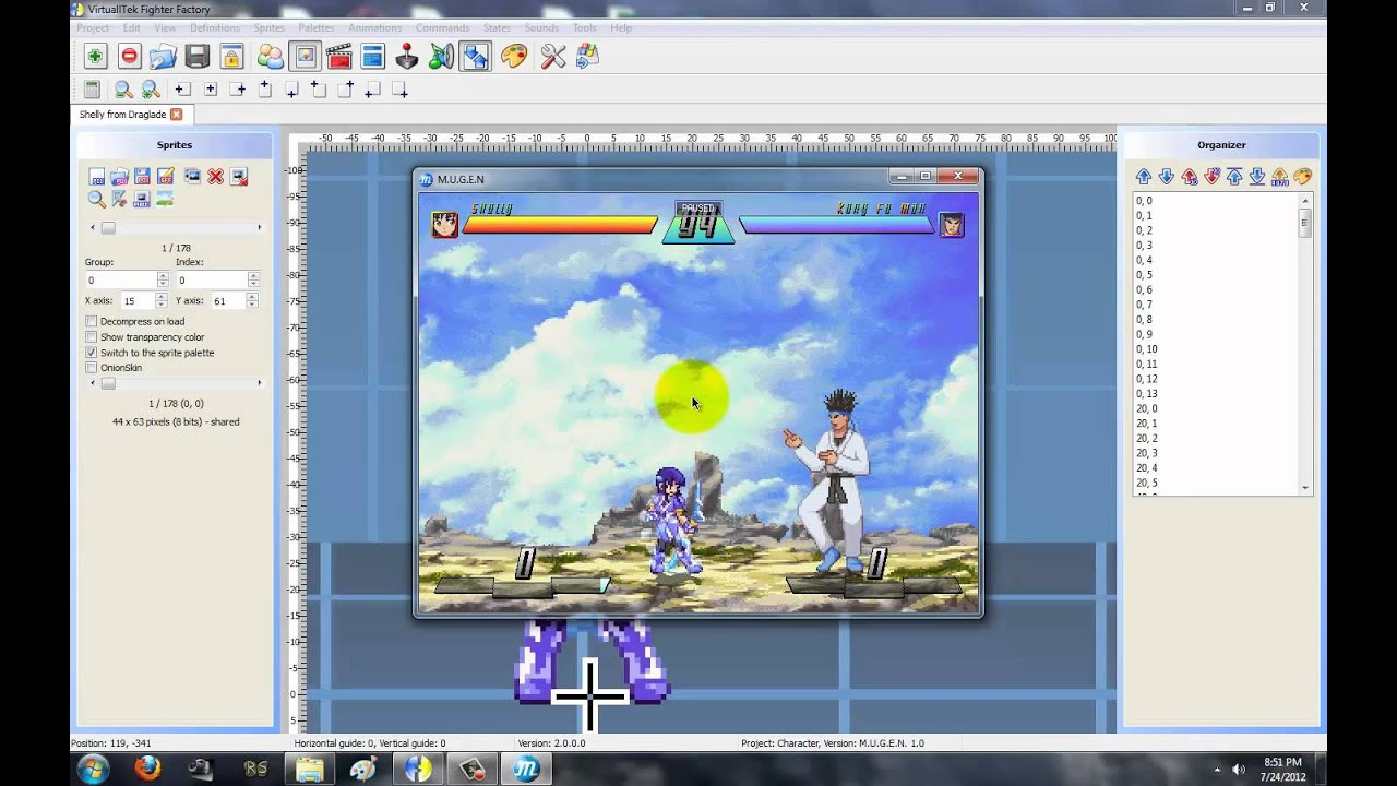 How To Make A Character (Complete!) - [ TUTORIALS ] - Mugen Free For All