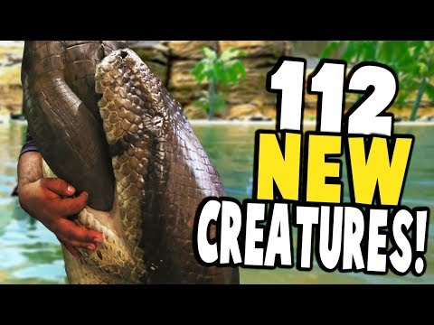 *FULL GAME RELEASE* 112 NEW CREATURES IN TOTAL! - Conan Exiles Gameplay