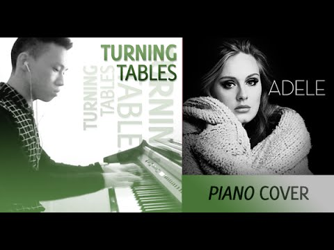 Adele - Turning Tables (piano cover by Ducci, lyrics)