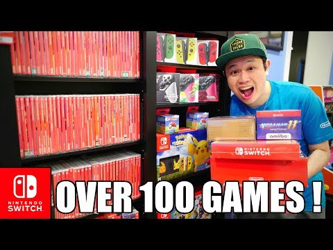 OVER 100 Nintendo Switch GAMES!