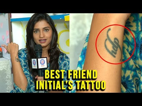 Hruta Durgule's Tattoo | Initials Of Best Friend | Exclusive Video | Phulpakhru TV Serial | Zee Yuva