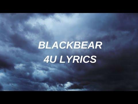 4U // blackbear lyrics