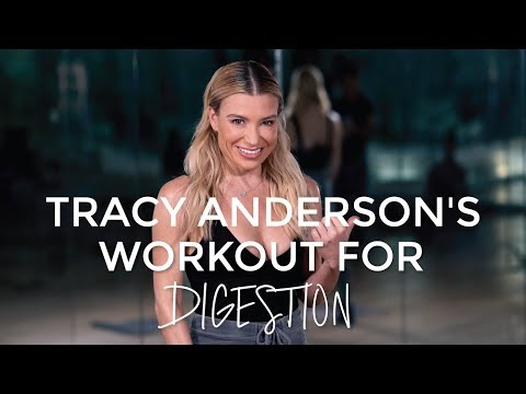 Tracy Anderson's 6-minute Core Workout To Boost Digestion | Good Moves