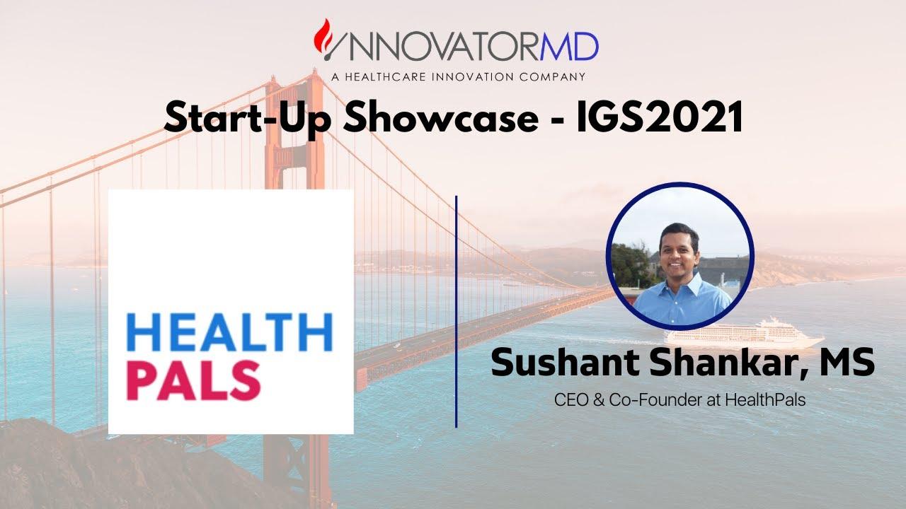 IGS2021: Start-Up Showcase - HealthPals