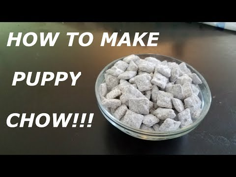 How do you make puppy chow with chex mix