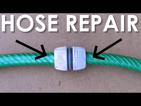 How to DIY Repair a Damaged Garden Hose (4 Easy Ways) | GOT2LEARN