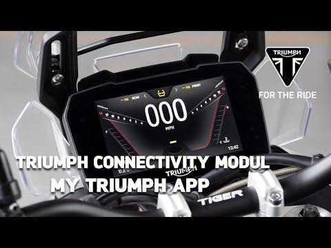 Triumph Motorrad Connectivity Modul - My Triumph App