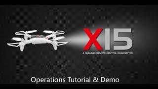 SYMA X15 Operation Tutorial