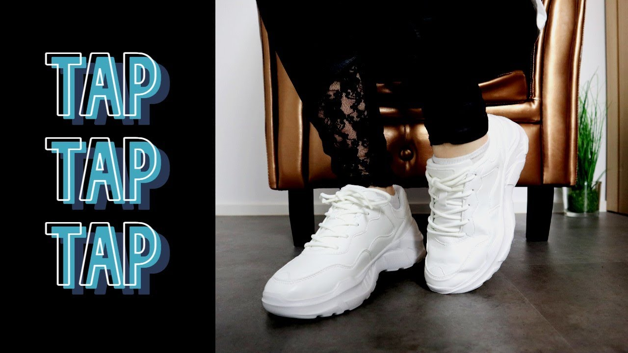 Tapping Sneakers in different styles and rhythms